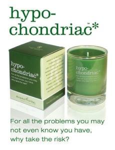 hypochondriac candle